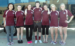 Select seven leave for state swimming competition