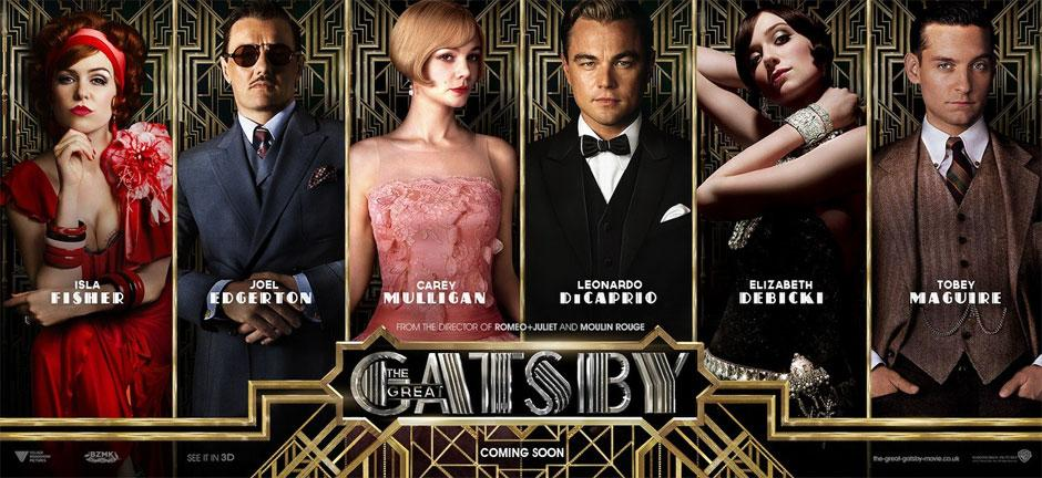 Wildcat Tales : The Great Gatsby Review The Great Gatsby 2013 Poster