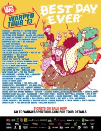 Warped Tour line-up