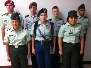JROTC students prepare for military life