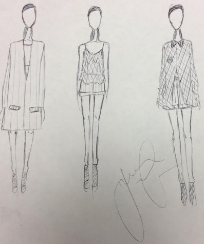 "Advanced Fashion Design students prepare for ""season finale"""
