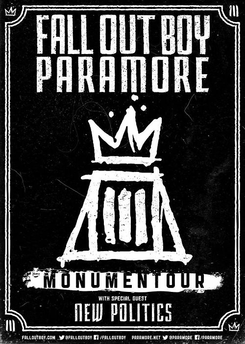 "Fall Out Boy ""Monumentour"": Review of the rain"