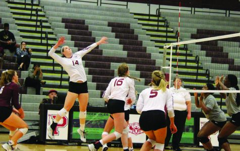 Varsity volleyball player committed as sophmore