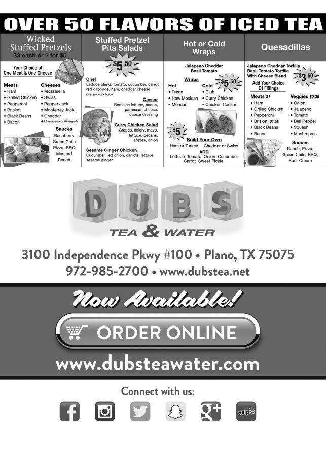 Dubs Tea & Water