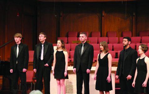 Chamber singers last concert