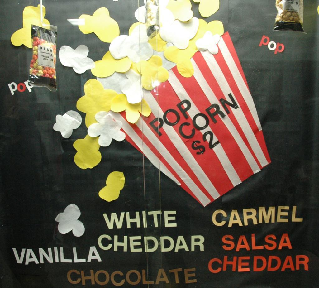 Fashion and popcorn