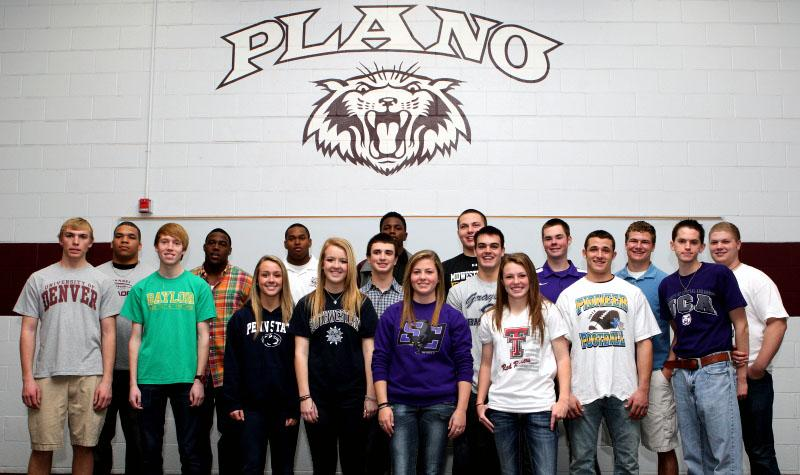 Students commit to colleges on National Signing Day