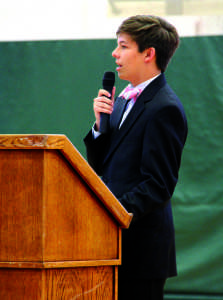 Junior Class President re-elected as senior class president