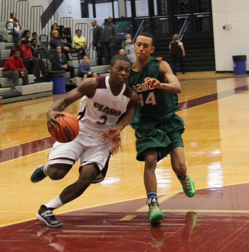 Varsity Boys Basketball: Plano vs. Naaman Forest Recap