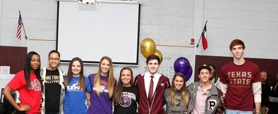 Congratulations 2013 Signees