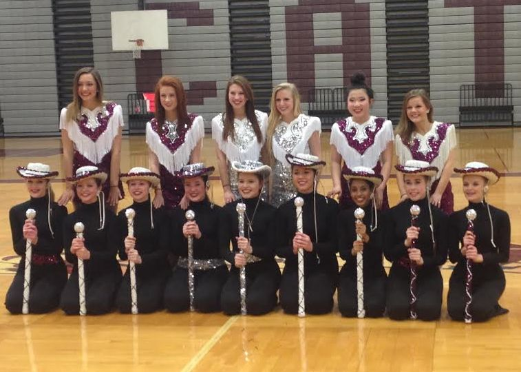 Drill Team Officers announced for 2014-2015