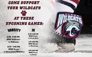 Varsity & JV hockey game schedule