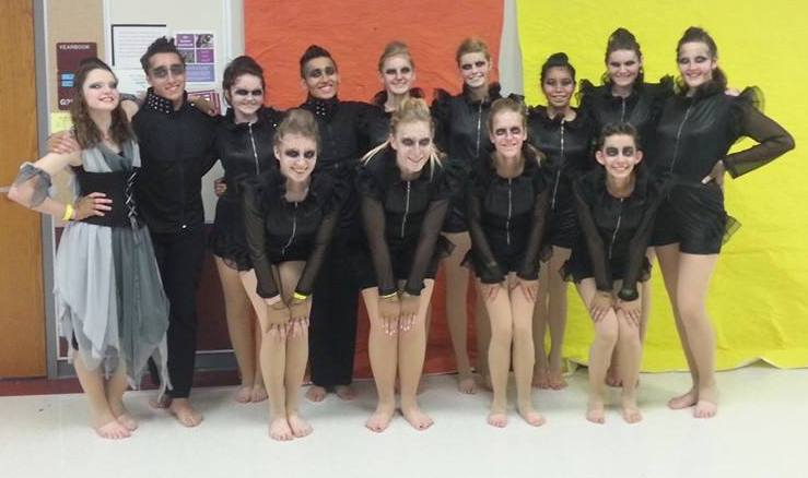Winter Guard holds annual Exhibition