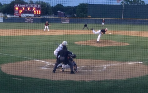 Sophomore A.J. Liu bats in the second inning of the Wildcats' win over Rockwall Fri. night.