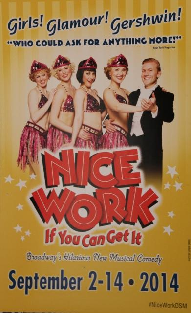 Nice Work if You Can Get It satisfies with mixture of slapstick, satire