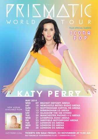 """Katy Perry shines in """"The Prismatic World Tour"""""""