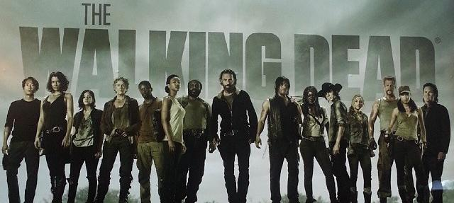 The Walking Dead airs Sundays at 8. Photo from Wikipedia.