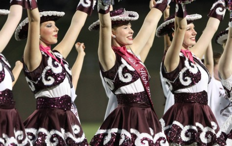 The Planoettes perform at halftime during the Oct. 11 game against Plano East. Photo by Terry Quinn.