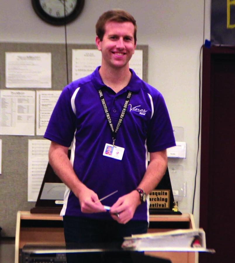 Cawyer has been enjoying his time teaching at Vines High School as well as here.