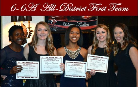 Volleyball players receive all-district recognition