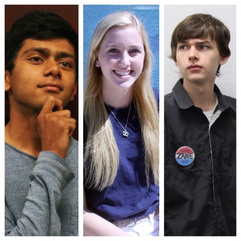 Candidates make their case for senior class president