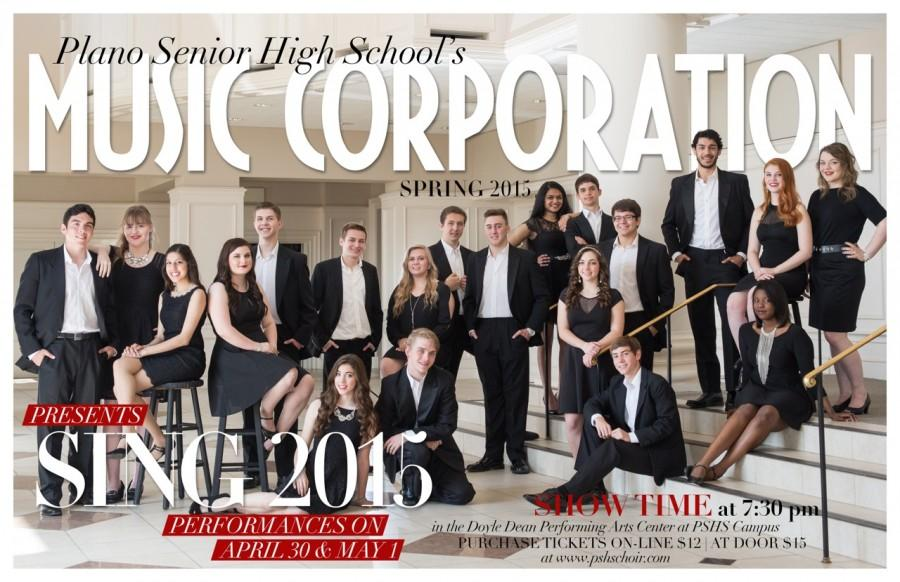 Music Corp. takes the stage for the final time tonight at 7:30 p.m.