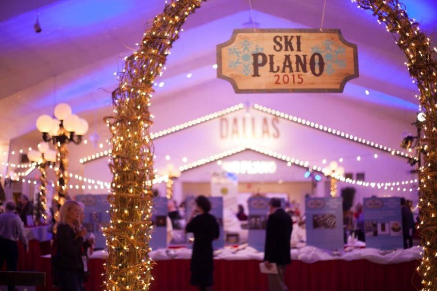 The entrance to the SKI Plano Gala, which was hosted on Jan. 30.  Photo courtesy of Marta Lilly.