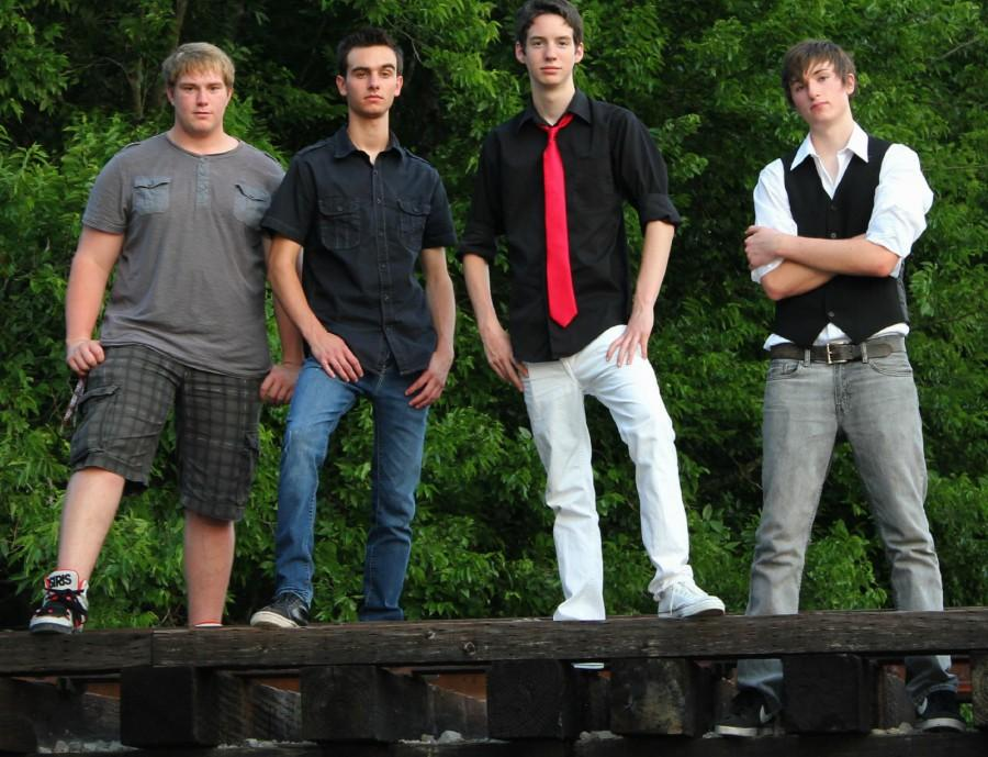 Lasting Effect during their Royse City photo shoot prior to the release of