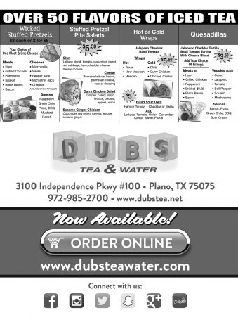 Dubs Tea & Water