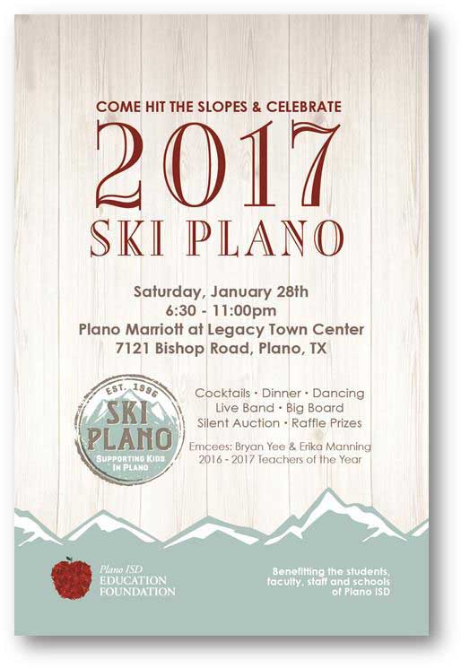 SKI plano 2017 poster