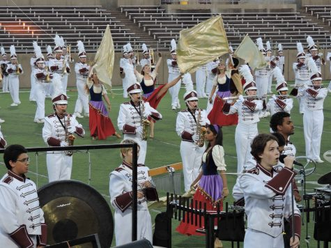 Band advanced to area competition