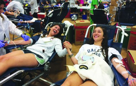 Largest blood drive anniversary