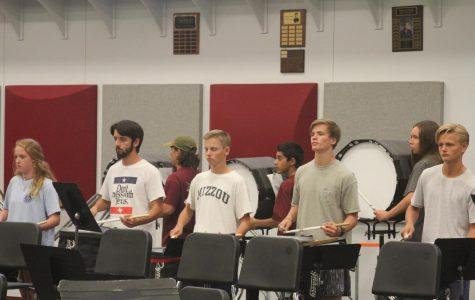 Band enters drumline contest
