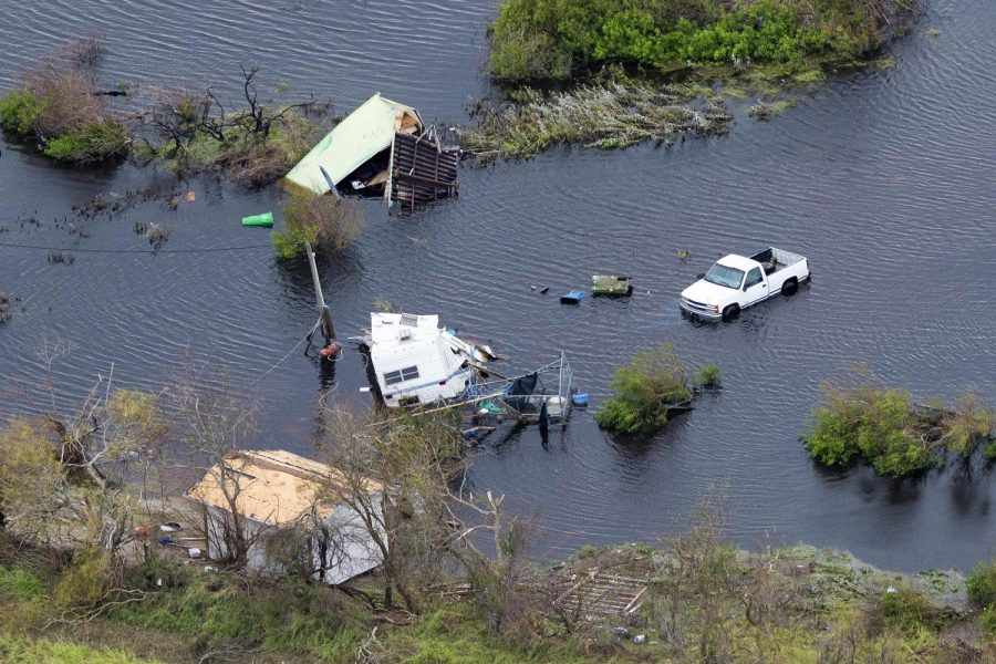 Hurricane Harvey relief begins at home