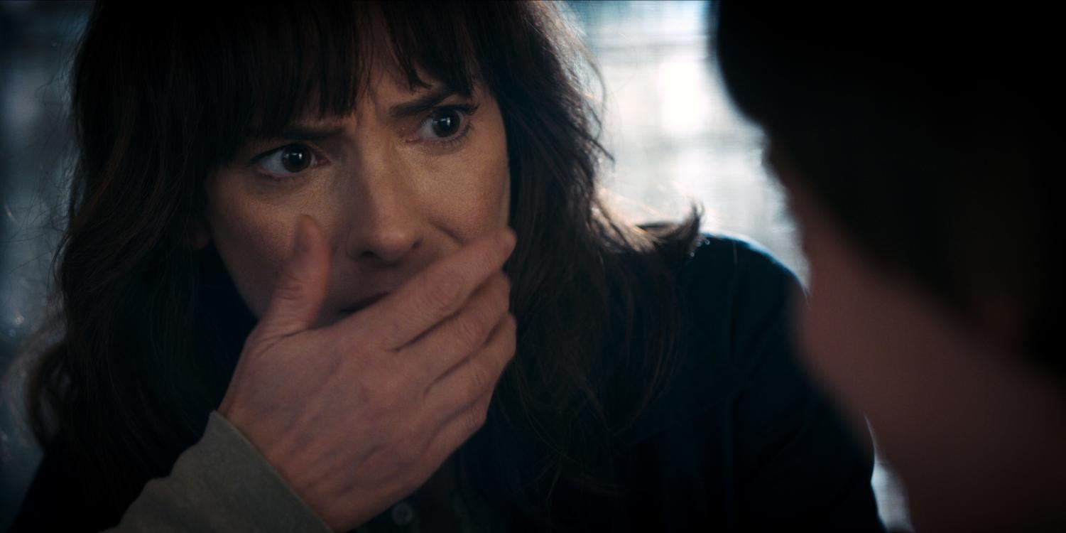 Golden Globe-winning actress Winona Ryder plays Joyce Byers in seasons 1 and 2 of Stranger Things.
