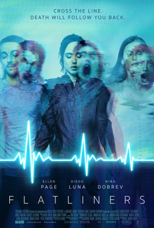 Ellen Page, Nina Dobrev, Diego Luna, James Norton and Kiersey Clemons star in the remake of Flatliners.