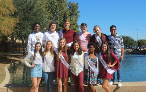 Homecoming court nominees 2017
