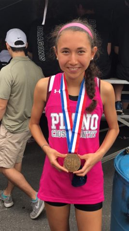Ashlyn Hillyard places third in State Cross Country meet