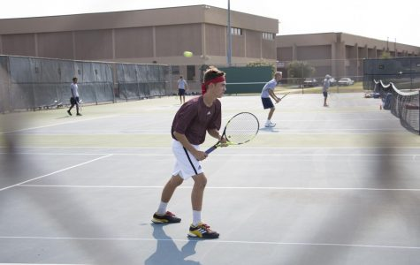 Mens tennis blazes past Mckinney