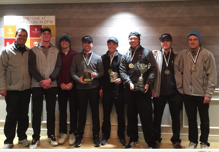 The Plano Golf Team won 1st place yesterday at Oakmont