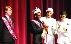 Former winner Charles Brockman is crowned Mr. Plano during the 2017 competition.