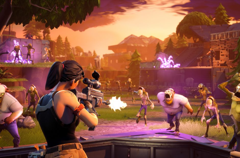 Fortnite encourages teamwork and is free to download. (photo used with permission by Wikimedia Commons)