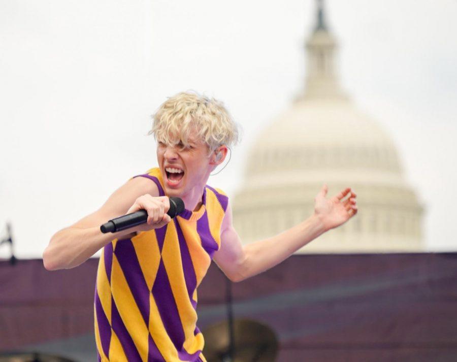 Troye Sivan at Capital Pride Concert