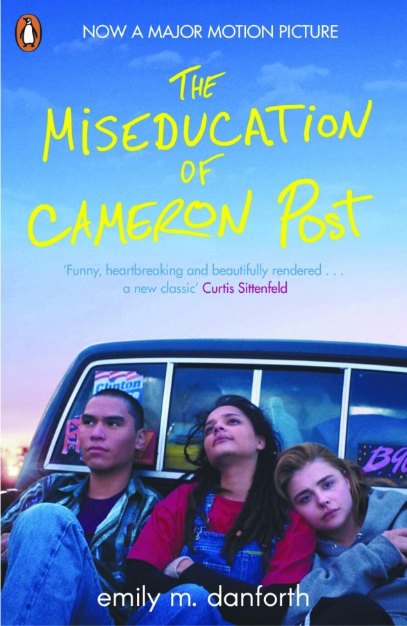 The book cover of The Miseducation of Cameron Post