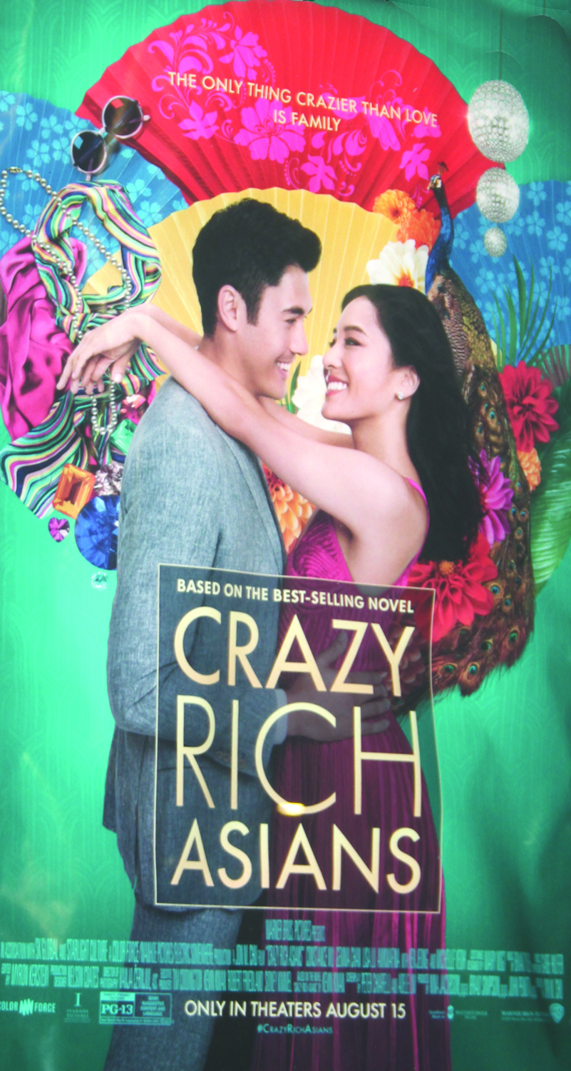 The new blockbuster rom-com, Crazy Rich Asians proves to be the most diverse Hollywood movie in decades. (photo by Lochan Mourty)