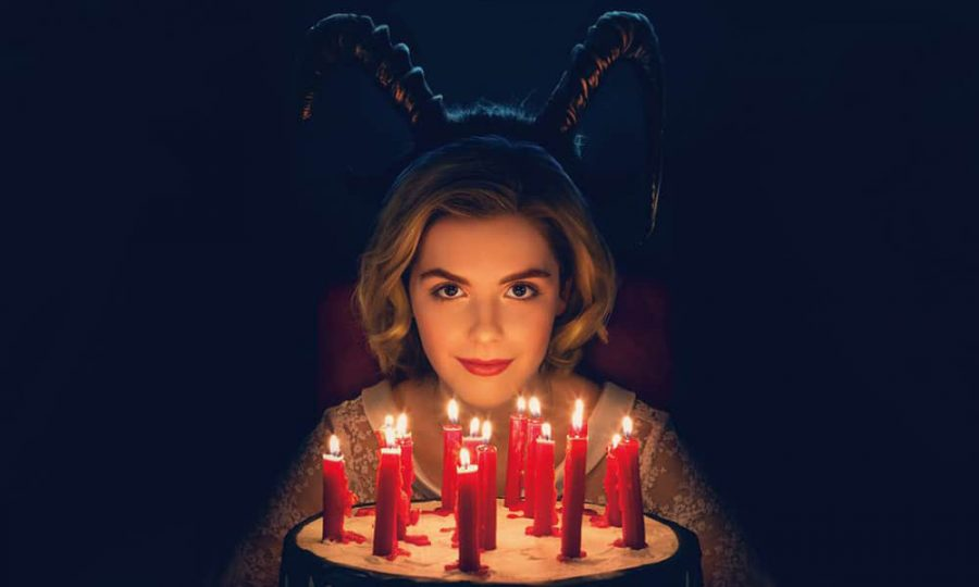 Kiernan Shipka showing her inner witch in promotional poster