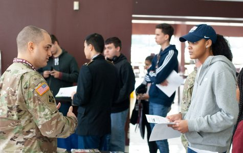 Career Fair provides information to students about different paths