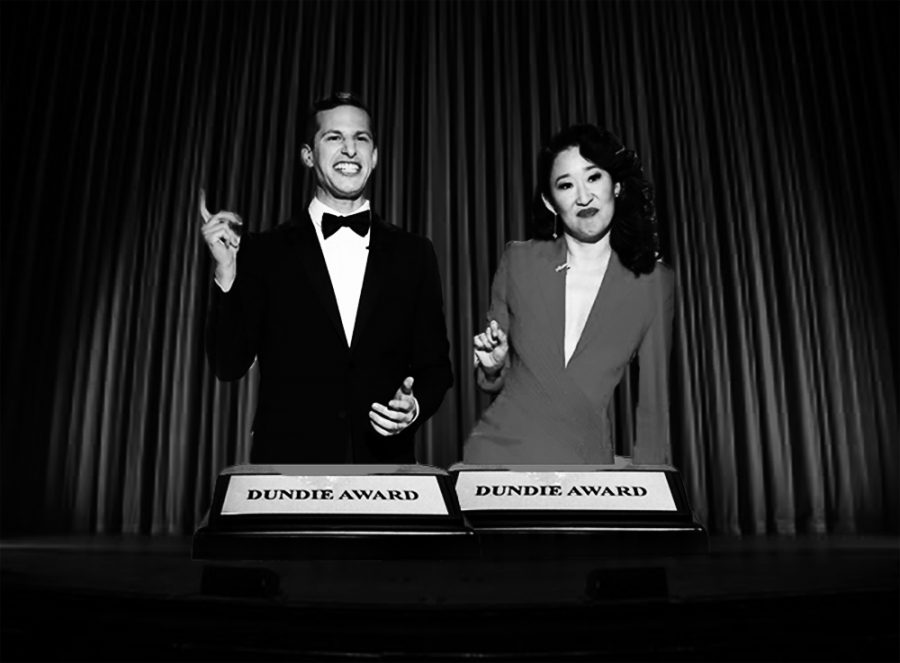 Golden+Globes+co-hosts%2C+Sandra+Oh+and+Andy+Samberg%2C+preach+the+need+for+more+diversity+in%0Agender+and+race+in+the+film+industry.%0A%28photos+used+with+permission+from+Golden+Globes%29