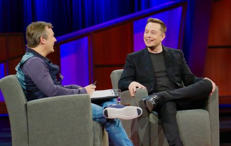 Elon Musk, the man behind Neuralink, expressing his dreams for the future to Chris Anderson during a Ted Talk