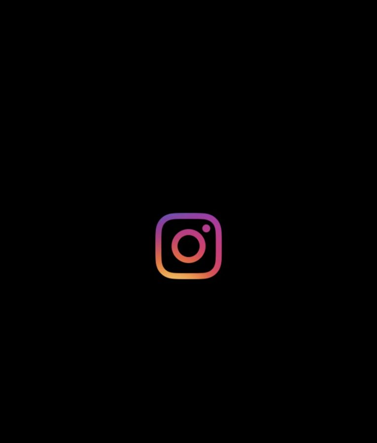 The Instagram icon is shown when users open the popular app